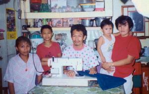 Family Sewing, Santa Ana